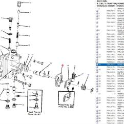 Allis Chalmers Model B Wiring Diagram Yamaha Blaster Parts Needed To Rebuild 43 Hydraulic Pump