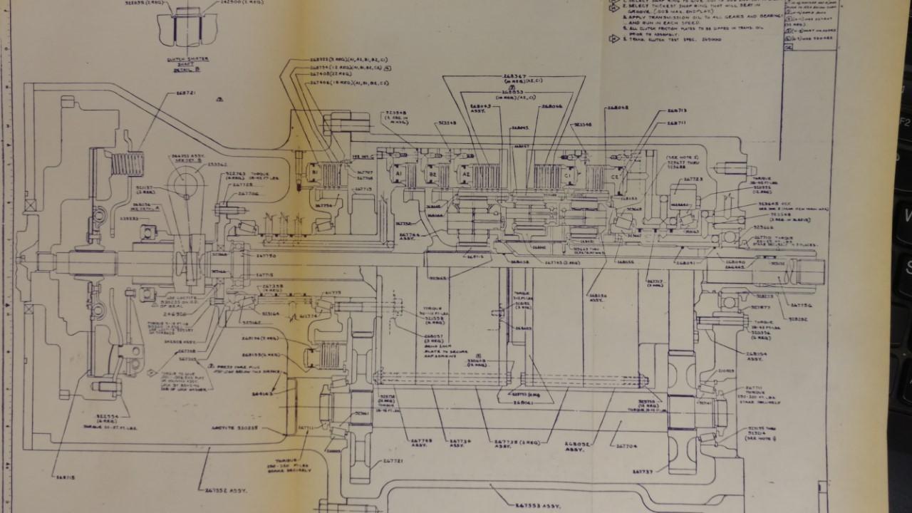hight resolution of  chalmers 7000 wiring diagram 6 7000 power train early blueprints allischalmers forum7000 power train early blueprints