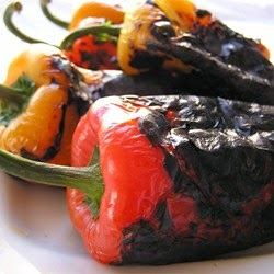 Side Dish – Easy Roasted Peppers