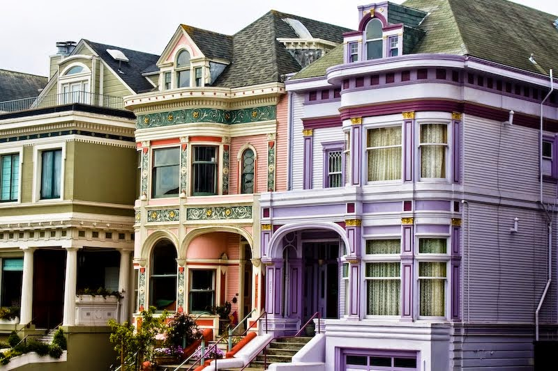 Victorian Homes, San Francisco, California