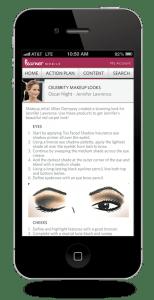 Learner Mobile - Celebrity Face Charts