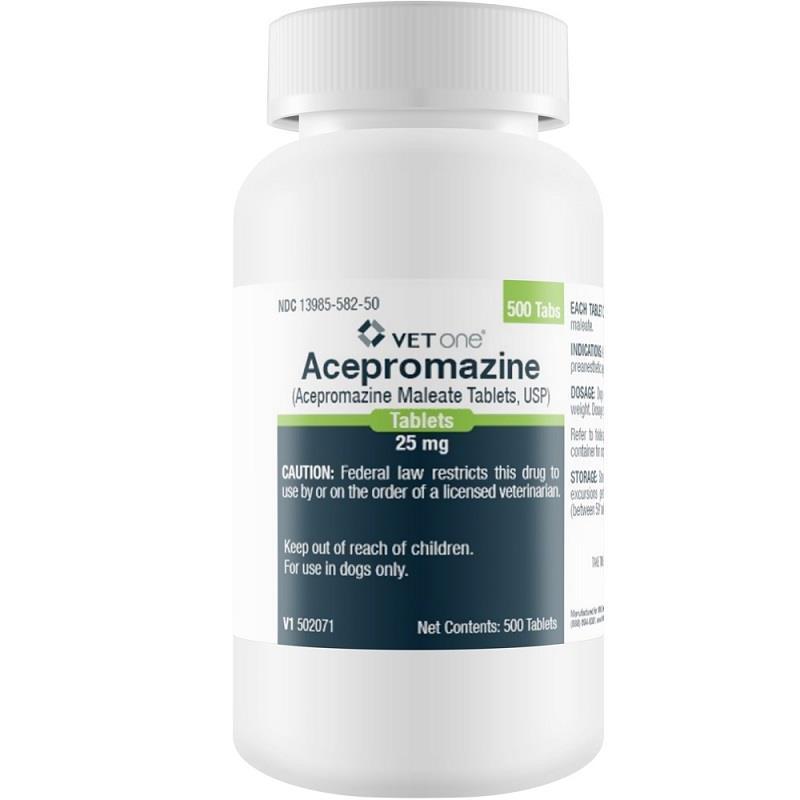 Acepromazine Tablet mg 25 Tablet   Allivet Pet Pharmacy