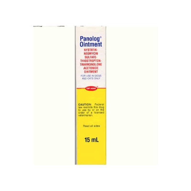 Panolog Cream 15 gm | Ear Antibacterial & Antifungal - Allivet