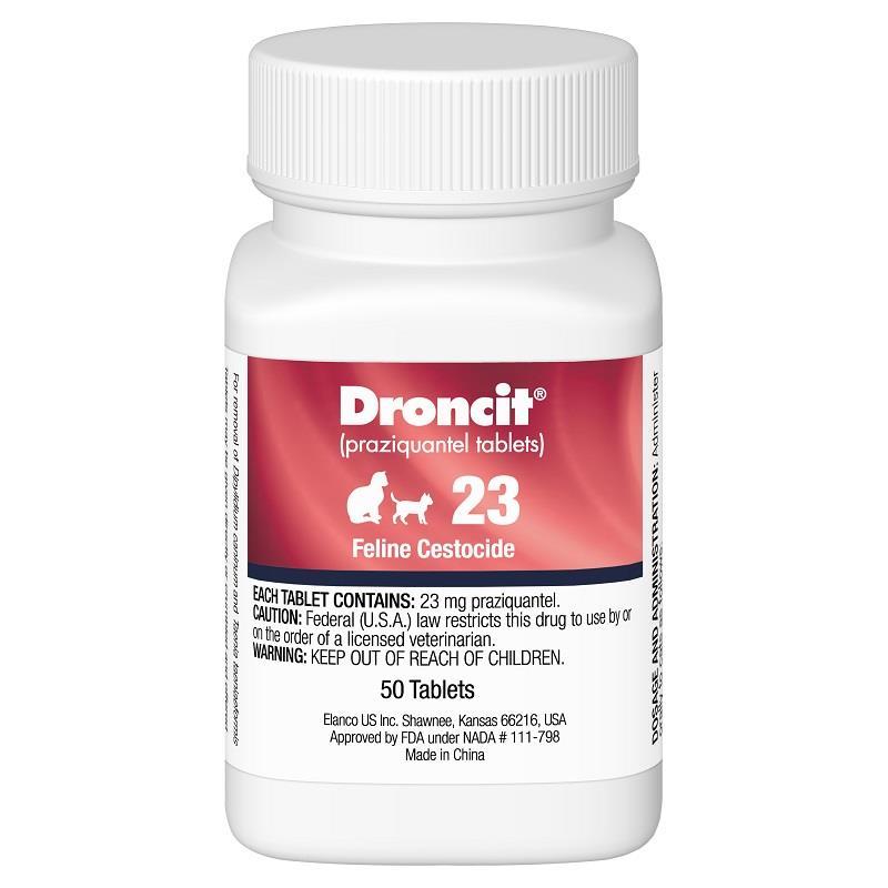 Buy Droncit 23 mg Tablets for Cat   Cat Dewormers   Allivet