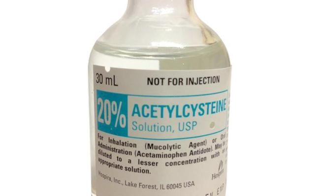 Acetylcysteine 20 Solution Acetylcysteine 20 For Dogs