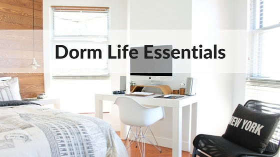 10 Things Every Dorm Room Needs