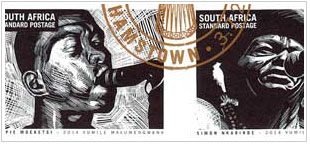 South African Post Office Launch new stamps honouring SAFRO Musicians