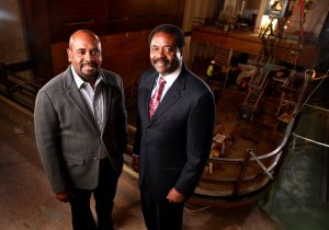 David Steward II (left) and his father, David Steward Photo by Christian Gooden