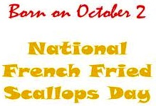 French-Fried Scallops Day logo.