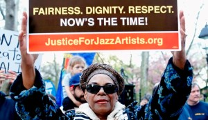 Jazzers campaign for pensions Justice for Jazz Artists