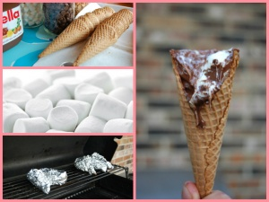Braai Chocolate Mallow Cones