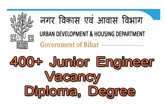 UDHD Bihar Junior Engineer (JE)
