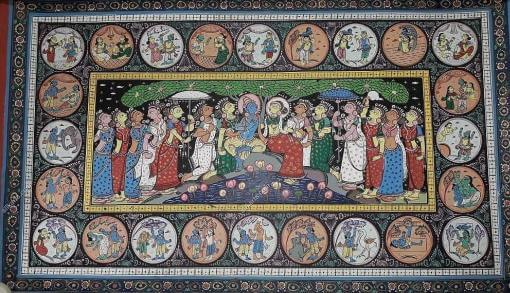 Pattachitra Painting HCODPC001F