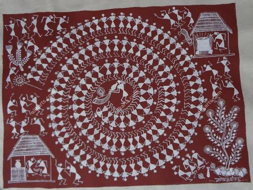 Warli Painting HCMHWP001C