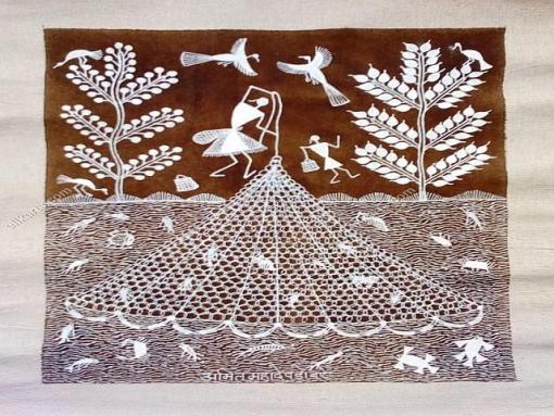 Warli Painting HCMHWP002H