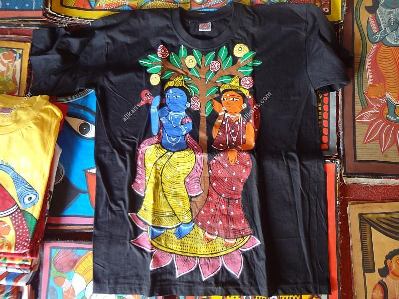 Pattachitra Hand Painted T-Shirts