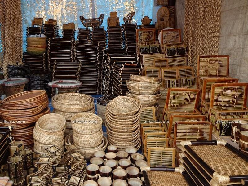 Cane and Bamboo Baskets