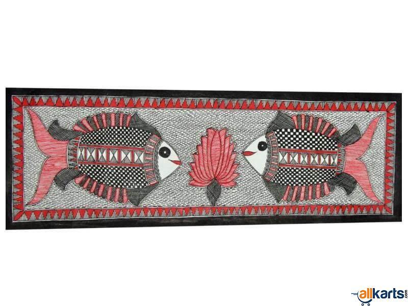 Madhubani Painting of Fish