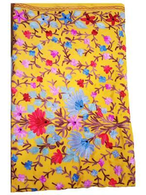 Kashmiri Hand Embroidery Saree
