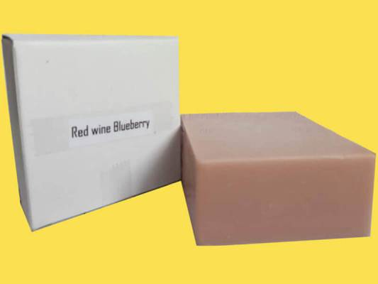 Red Wine Blueberry Handmade Soap