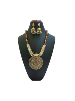 Glass Beads with Loreal Jewellery Set