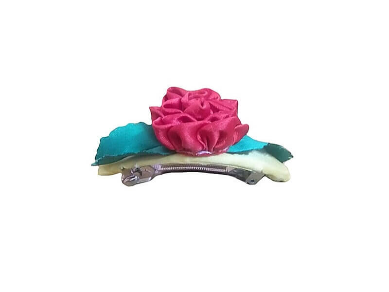 Satin Ribbon Hair Clip