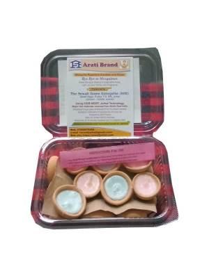 Pack of 18 Paraffin Wax Herbal Aroma Diya Candles