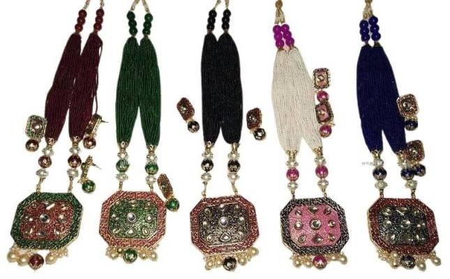 Meenakari and Kundan Jewellery