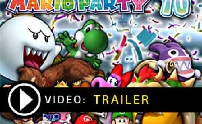 Buy Mario Party 10 Nintendo Wii U Download Code Compare Prices