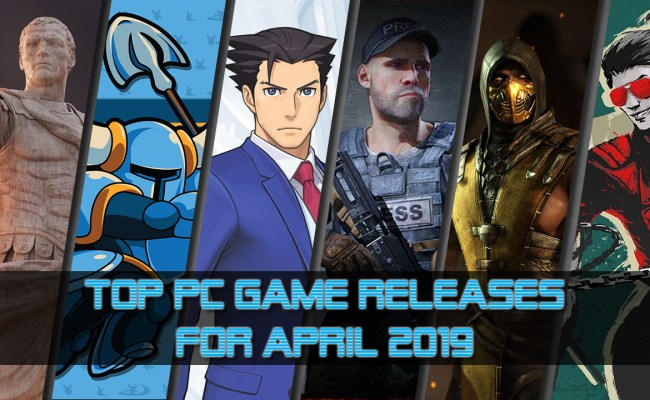 Top 10 Pc Game Releases For April 2019 Allkeyshop