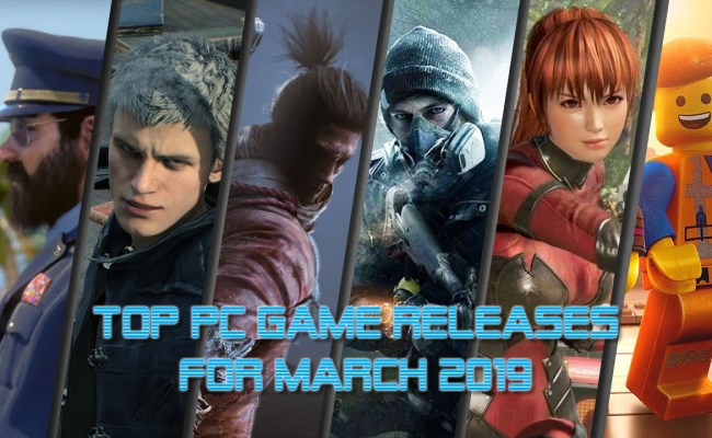 Top Pc Game Releases For March 2019 Allkeyshop
