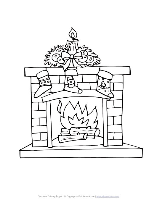 Chimney Template Printable Pictures to Pin on Pinterest