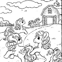 My Little Pony Coloring Pages All Kids Network