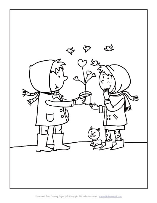 Giving Pages Coloring Pages