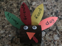 i am thankful turkey craft