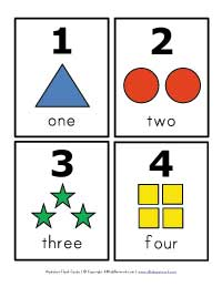 Number Flash Cards All Kids Network