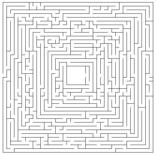 maze coloring pages # 3