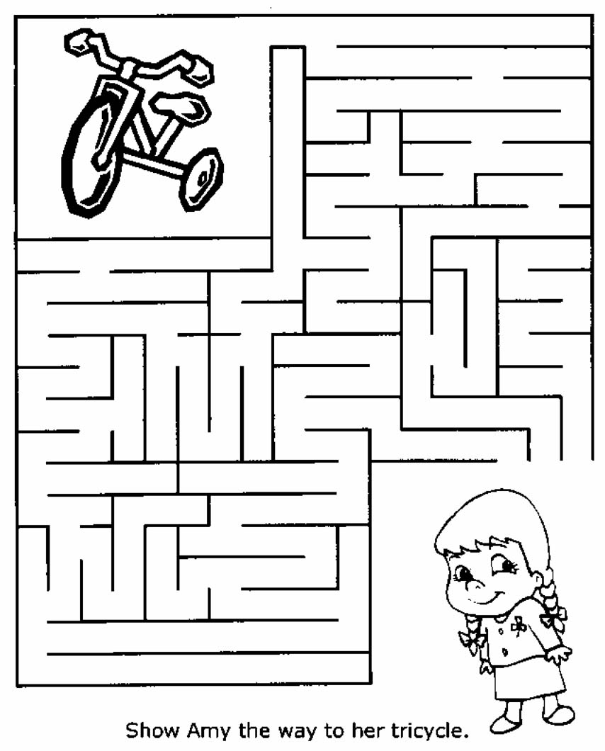 hight resolution of Free Printable Mazes for Kids   All Kids Network