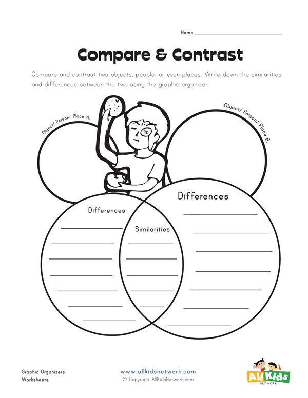 People to compare and contrast. Section 1: Why Compare