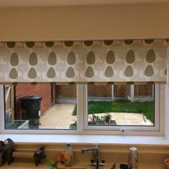 Kitchen Blinds Under Cabinet Lights Patterned Roller Chelmsford