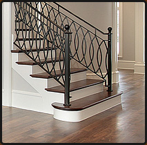 Installation-of-hardwood-or-carpet-flooring on-stairs