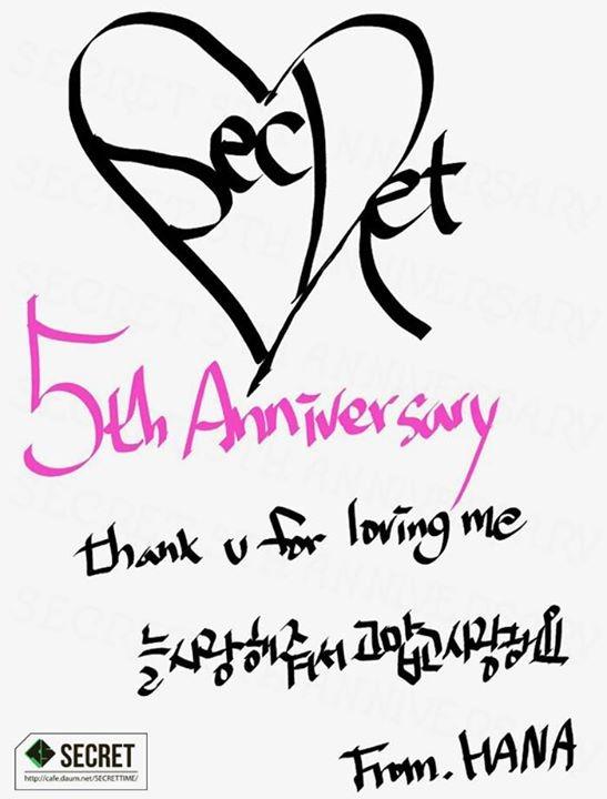 Hyosung celebrates her birthday + SECRET marks 5 years since debut
