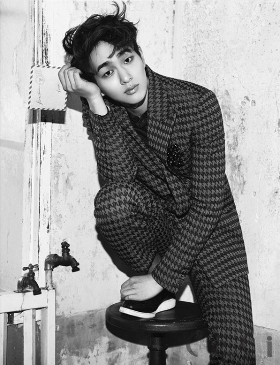 CeCi unveils additional photos from SHINees charismatic blackandwhite pictorial  allkpop