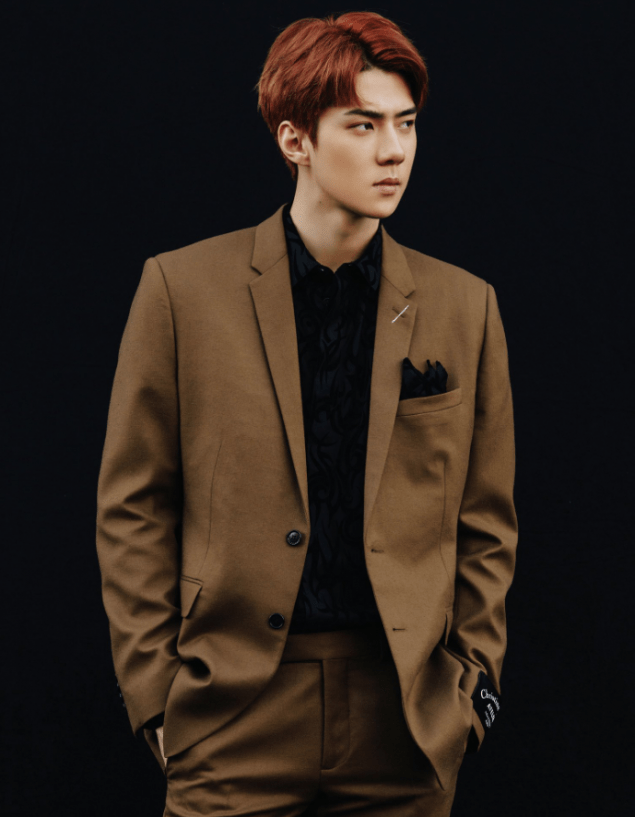 EXOs Sehun perfects both rough and dandy look in Dont