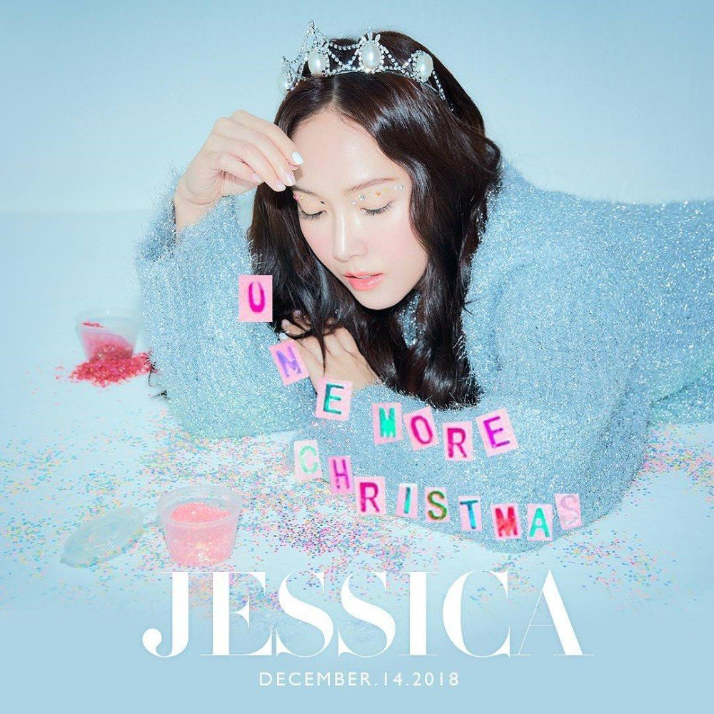 Former Girls' Generation member Jessica teases holiday track 'One More Christmas' | allkpop