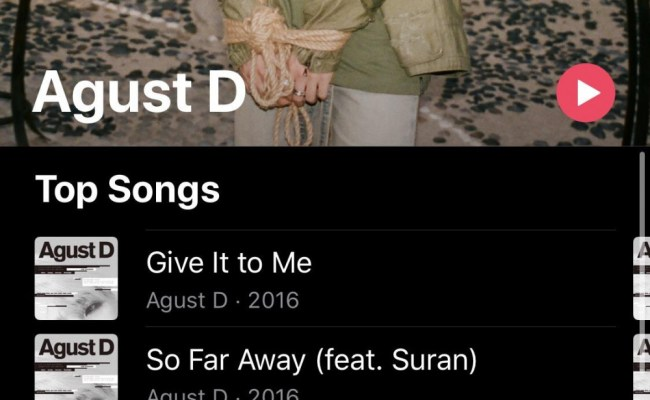 More Evidence For Agust D S Comeback As Apple Music Posts