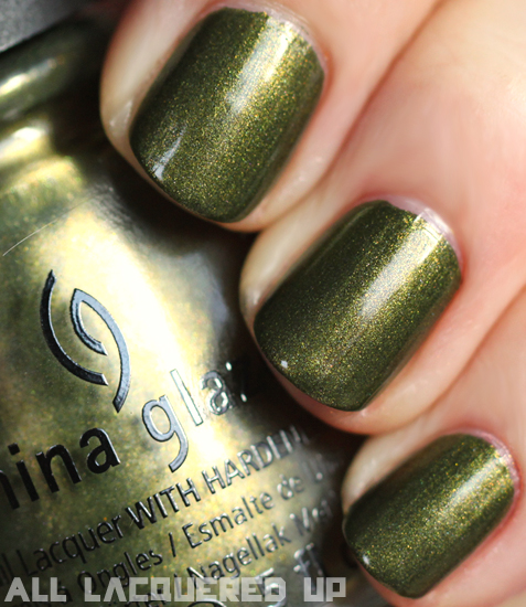 China Glaze Agro Nail Polish Swatch Capitol Colours