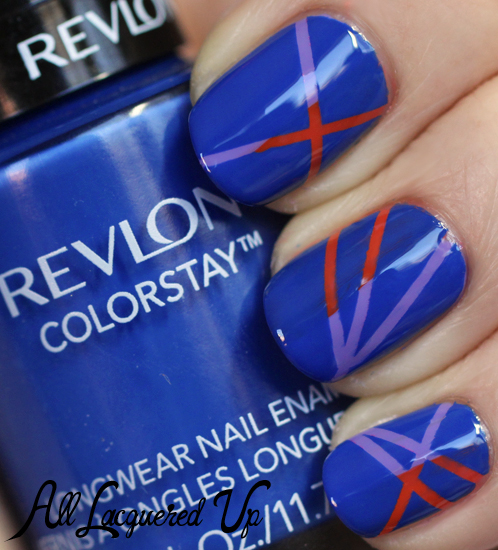 striping-tape-manicure-revlon-indigo-night-maybelline-nail-polish-swatch