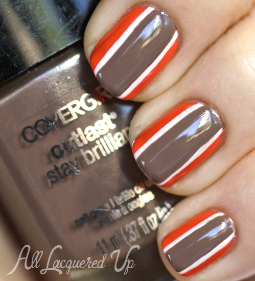 Cover Nfl Cleveland Browns Fanicure Nail Art