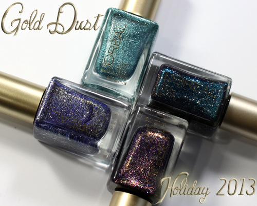 L Oreal Paris Gold Dust Textured Nail Polish
